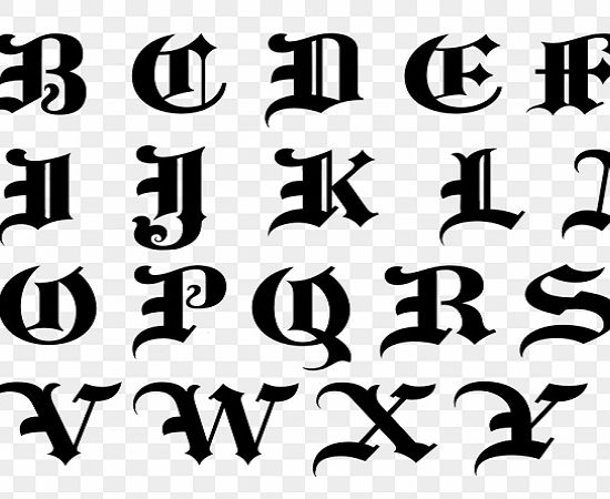 transparent letters in Photoshop using Brushes